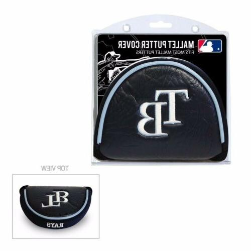 mlb tampa bay rays mallet putter cover