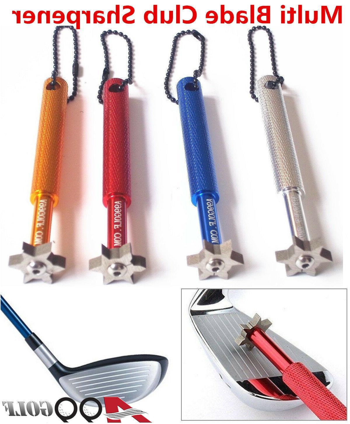 multi blade club sharpener wedge and iron