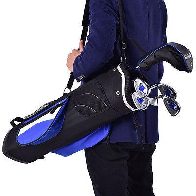 New 6 Piece Golf Club Set for Wood Putter Bag Ages