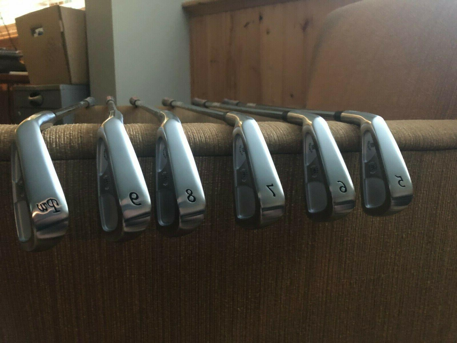 new cb 57 forged irons 5 pw