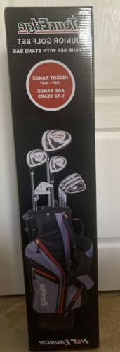 New Tour Edge HL-J Age 9-12 RH 7 Club Junior Golf Set With B