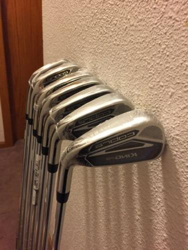 New Cobra King One Length Iron 5-GW irons OL