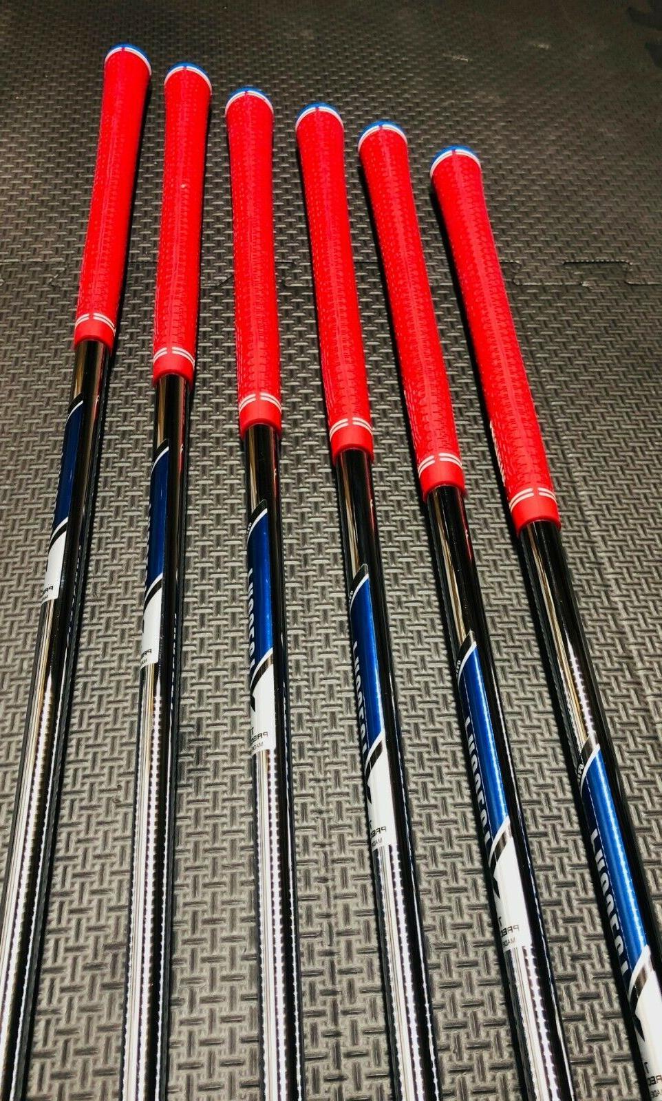 NEW Irons Set 6-PW, GW - Custom Shafts -