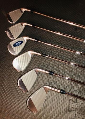 NEW Cobra MAX Irons Set 6-PW, Custom Project X 7.0 Shafts - RH