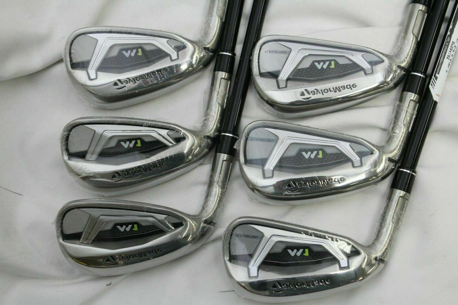 New Taylormade 5-PW Iron set Kage 80 Stiff graphite M-1 Irons