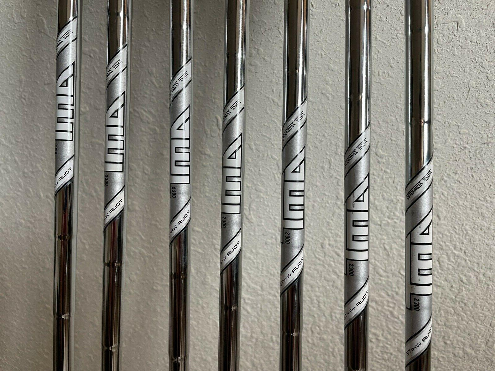 TaylorMade Iron Set with Temper AMT