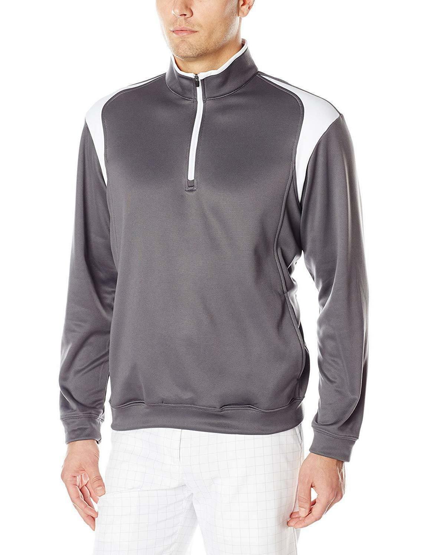 PGA TOUR Performance 1/4 Color Block Jacket