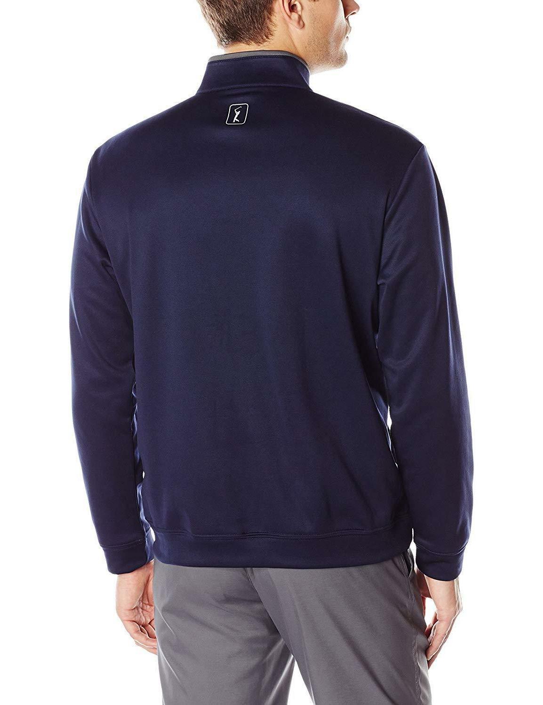 PGA TOUR Men's Performance Pullover Color Block Jacket