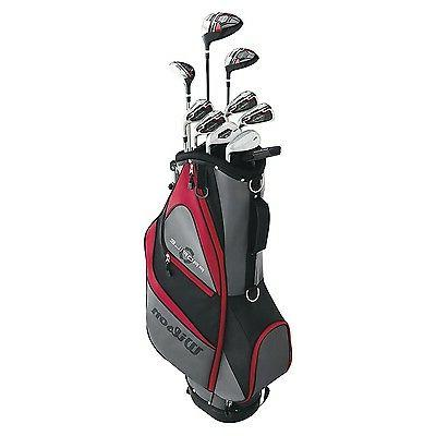 Wilson Profile RH Flex Steel Golf Package