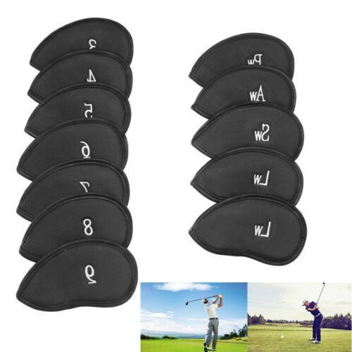 12 PCS Golf Head Covers Club Set US