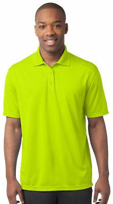 Sport-Tek Men's Dri Fit Short Sleeve Golf Polo Shirt XS-4XL.