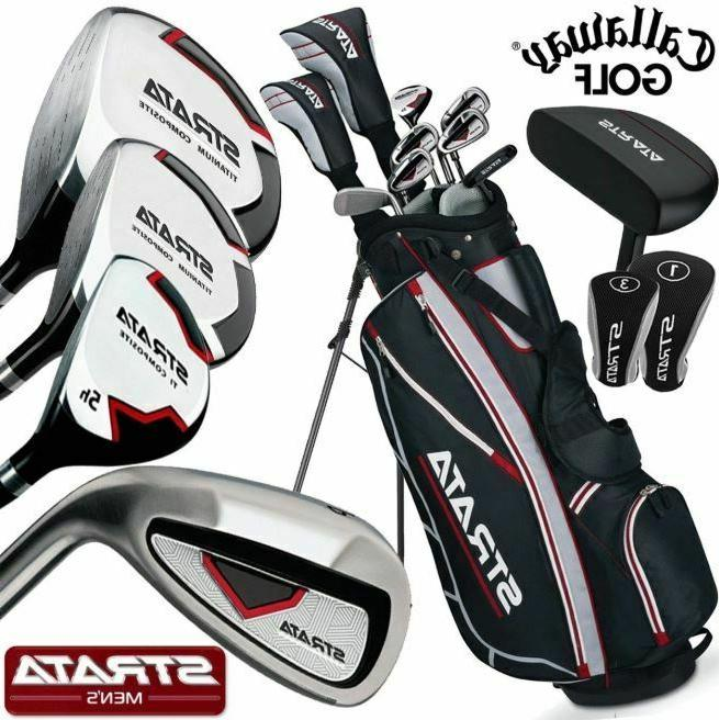 strata complete golf club set