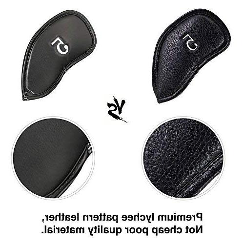 Craftsman Thick Synthetic Leather Head Set Fit Brands Titleist, Callaway, Cobra, Nike, Etc. sku:6000240