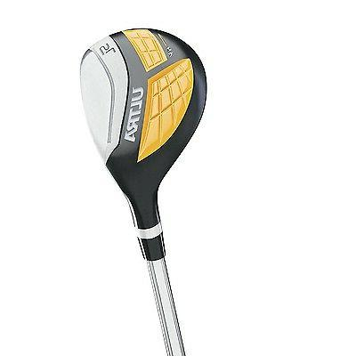 Wilson Complete 9 Right Handed Golf Stand, Yellow