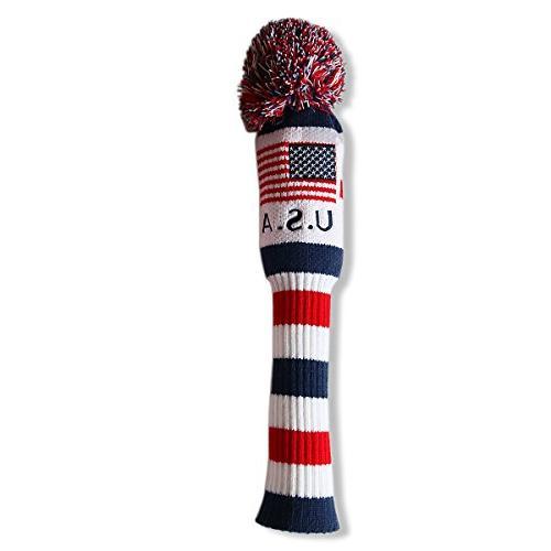 us flag knit pom