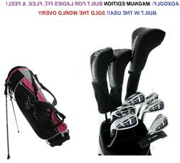 AGXGOLF LADIES TALL XLT-PK COMPLETE GOLF CLUB SET-DRIVER+HYB