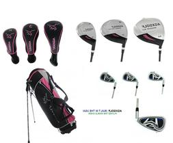 AGXGOLF LADIES XLT LEFT HAND Golf Set w/Bag,Woods, Hybrid, I