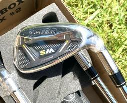 Left Hand TaylorMade Golf 2017 M2 Iron Set 4-PW + SW Regular