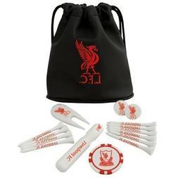 Liverpool Football Club Official Tote Bag Golf Gift Set Ball