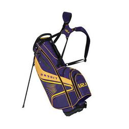 LSU Tigers Gridiron III Stand Bag by Team Effort