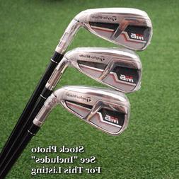TaylorMade M6 Individual Irons 4/5/6 Steel/Graphite Flex Reg