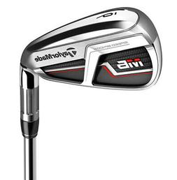 TaylorMade M6 Iron Set 5-PW,AW Right Handed KBS Max 85 Steel