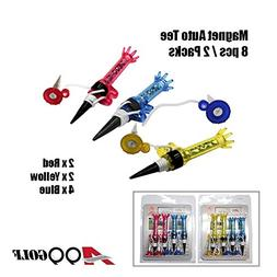 A99 Golf Pack of Magnet Tee 8pcs New Random