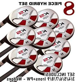 Men's Majek Golf All Hybrid Complete Full Set, which Include