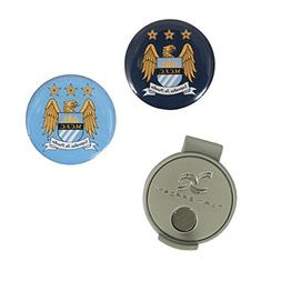 Manchester City Football Club Hat Clip & 2 Ball Markers