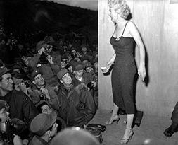 marilyn monroe uso tour korea