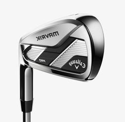 Callaway Golf MAVRIK PRO Irons  Men's RH Steel S-flex