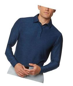 men s dry fit long sleeve polo