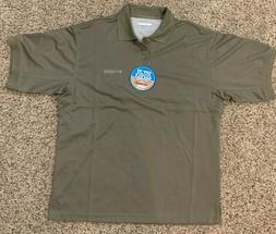 Columbia men's Fishing PFG Perfect Cast Polo Shirt size Smal