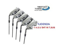 Men's Right Hand AGXGOLF Magnum Irons Set 5-9 Irons w/Graphi