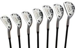 "Men's Majek MX4 Hybrid Iron Set  Senior ""A"" Flex Graphite"