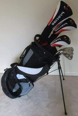 Mens Right Handed Golf Set Clubs Driver, Wood, Hybrid, Irons