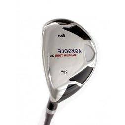 AGXGOLF MENS SENIOR RIGHT HAND #6 HYBRID IRON w/SENIOR FLEX