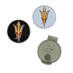 NCAA Arizona State Sun Devils Hat Clip and 2 Golf Ball Marke