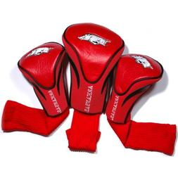 NCAA Arkansas Razorbacks 3 Pack Contour Headcover