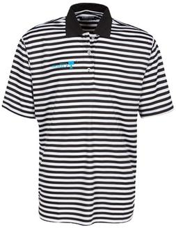 Oxford NCAA Citadel Bulldogs Men's Bar Stripe Golf Polo, Bla