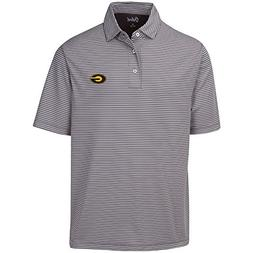 NCAA Grambling Tigers Adult Men Calhoun 2-Tone Stripe Ottoma