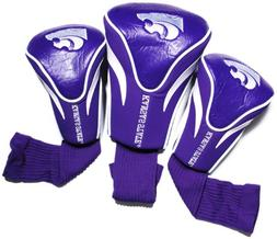 NCAA Kansas State Wildcats 3 Pack Contour Golf Club Headcove
