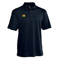 Cutter & Buck NCAA Michigan Wolverines Men's Genre Polo Tee,