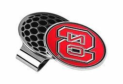 LinksWalker NCAA North Carolina State Wolfpack Golf Hat Clip