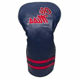 NCAA Ole Miss Rebels Golf Vintage Driver Head Cover