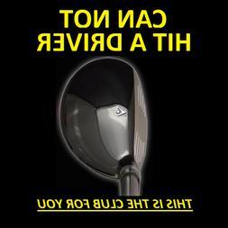 #1 DRIVING 13° i-Driver Hybrid Iron Wood Rescue Golf Club N