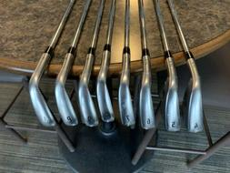 New 2019 Callaway Apex Forged Golf Irons 4-PW+AW RH Steel St