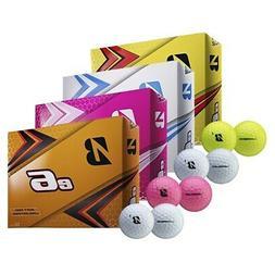 NEW Bridgestone 2019 e6 Soft Feel/Distance Golf Balls -Pick