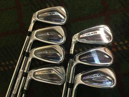 NEW!!! 2019 Cobra King F9 Irons 4-PW Std. KBS Tour 90 STIFF