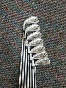 NEW 2020 Wilson Staff D7 Forged Irons 4-PW KBS $-Taper Lite